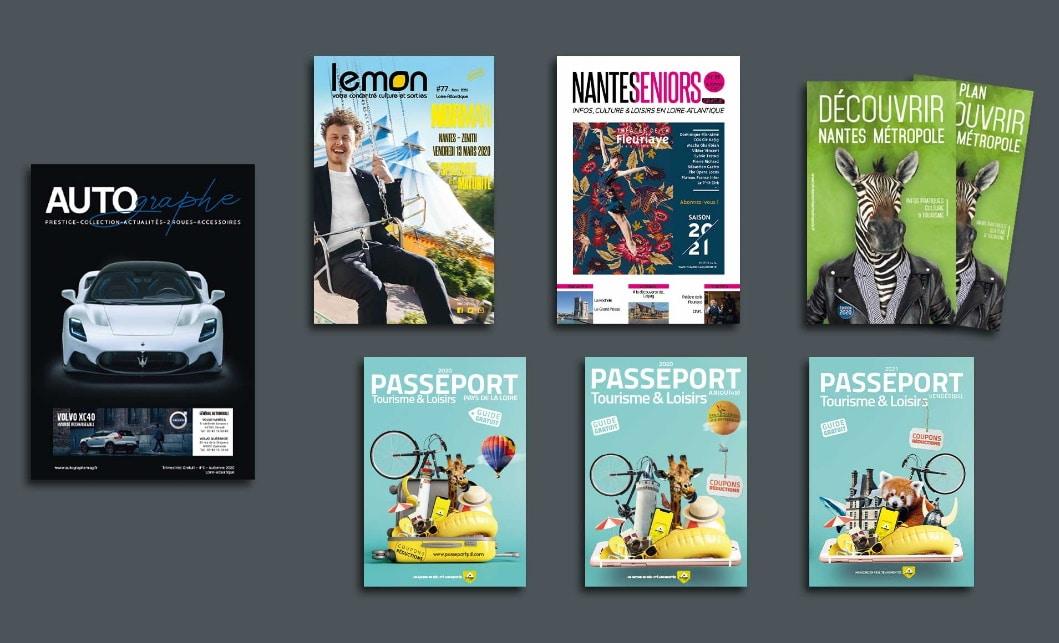 Prestation édition magazine régie publicitaire -Andégave Communication