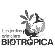 Partenaire Les jardins animaliers BIOTROPICA - Andégave Communication