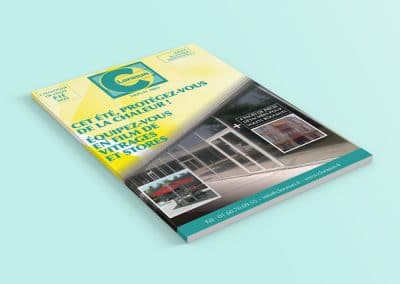 Impression Distribution Catalogue CLORASUN - Andégave Communication