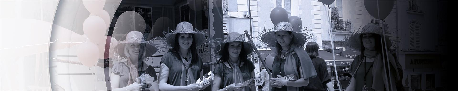 Street Marketing Hotesse Distribution - Andégave Communication