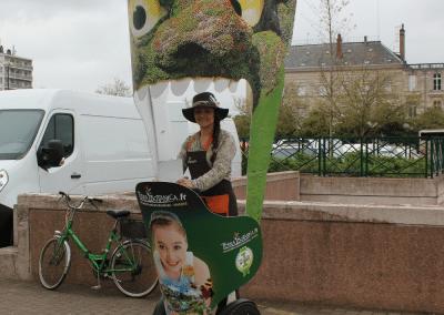 Street Marketing Segway Terra Botanica - Andégave Communication