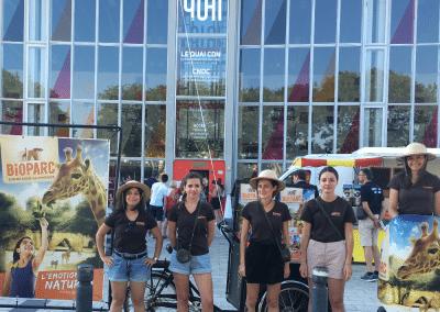 Street Marketing Segway Triporteur BIOPARC - Andégave Communication